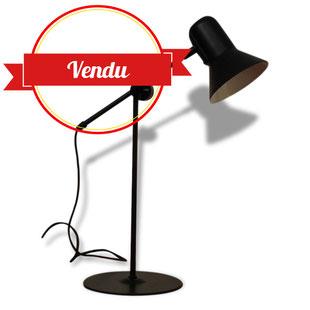 Lampe Veneta Lumi Vintage noire Réglable