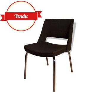 chaise, chaise vintage, chaise saarinen, chaise de conference, pieds chromés, vintage, knoll, 1960, 1950, design, bureau