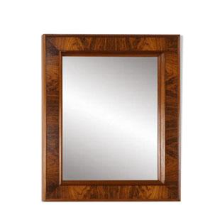 miroir en palissandre rectangulaire,ancien