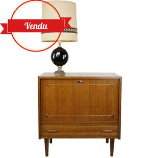 meuble bar vintage,meuble scandinave,meuble rétro,poignées laiton,petit meuble,meuble vintage pas cher,excellent état,majdeltier,pieds compas,années 60,années 50