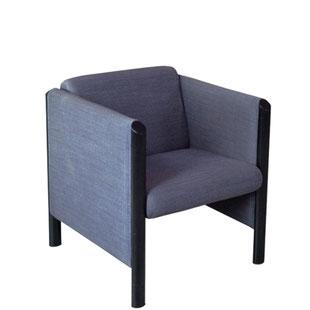 fauteuil memphis,memphis,bleu,coloré,fauteuil club,design,vintage,design et vintage,tubulaire,original