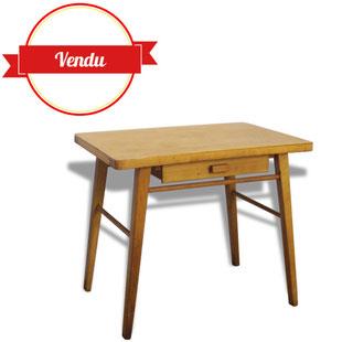 bureau,enfant,baumann,vintage,bois,école,écolier,ancien,brocante,