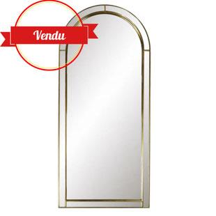 miroir en arcade,miroir forme fenétre,miroir chic,miroir art deco,miroir vintage,grande sélection de miroirs vintage et design,cadre en bois miroir doré,pares closes,vintage,lille,majdeltier
