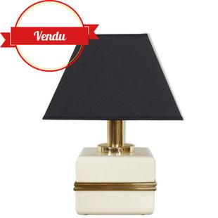 lampe cube bicchielli,italy,italie,design,lampe hollywood regency,lampe élégante,lampe design,lampe vintage,laiton,majdeltier