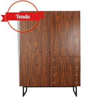 pierre guariche,design,vintage,design guariche,majdeltier,rétron années 60,meuble vintage,meuble design,palissandre,commode