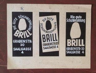 Schuhmacherei Baumbach - 1960er - Auch werbetechnisch auf dem neuesten Stand