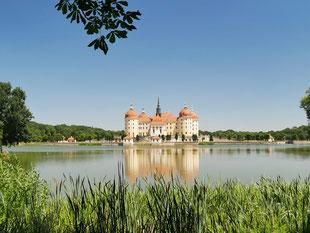 Jagdschloss Moritzburg in Sachsen