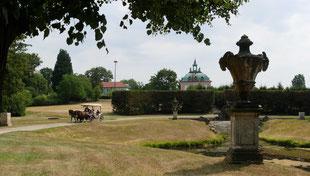 Fasanerieschloss ist das kleinste Schloss  in Sachsen
