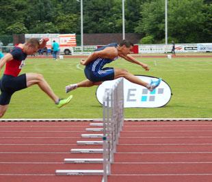 LAZ-Hürdensprinter David Klöckner tritt im heimischen Stadion gegen den 5-fachen Deutschen Meister Matthias Bühler und die gesamte niederländische Hürdenelite an.