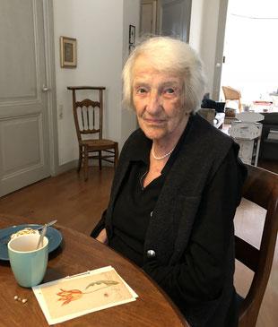 (c) Thomas Doebele (Marga Minco an ihrem 97. Geburtstag, 2017)