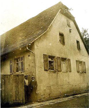Wohnhaus Riede am Roten Tor – ca. 1920