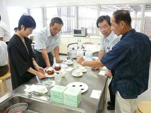紅茶専門店・打越製茶農業協同組合の皆さん