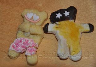 Mit weihnachtlicher Badehose :) Linda's Werk