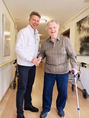 Heimbehandlung durch Physiotherapie Andreas Mühlheim GmbH