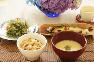 6月の和食