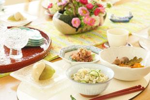 7月の和食