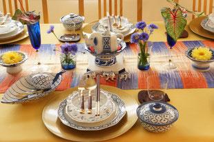 タイ料理のテーブルコーディネイト