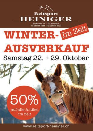 Reitsport Heiniger, Schönbühl - Blogartikel Genschenkgutscheine für den Reiter
