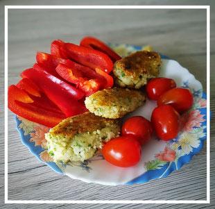 Couscous-Käse-Kroketten