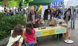 "NABU-Stand am ""Lebendiger Neckar 2015"""