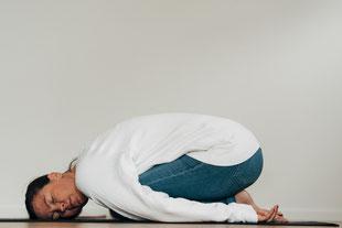 Yoga - Stellung des Kindes