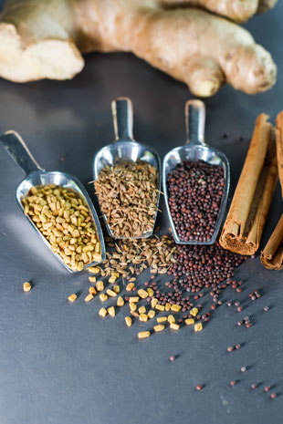 Healing the senses with spices
