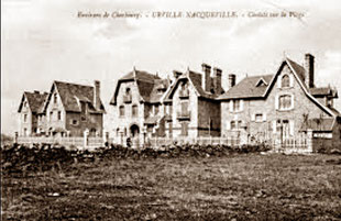Villas années 1900 à Urville-Nacqueville