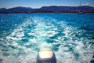 Boot, Sardinien, Cala Finanza, Bootsfahrt