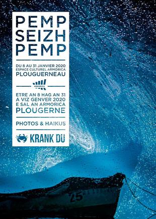 PEMP SEIZH PEMP Expositions photo & haiku espace culturel armorica plouguerneau krank du photographie poésie breton brezhoneg