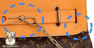Steamer bag Louis Vuitton nouveau sytème de fermeture épingle