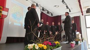 Musikalische Begleitung des Festaktes durch den MGV Malta