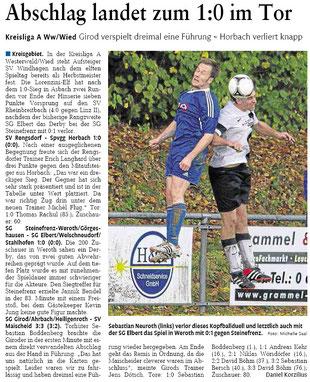 Quelle: Westerwälder Zeitung vom 28.10.2013