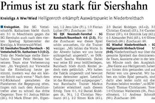 Quelle: Westerwälder Zeitung vom 10.09.2012