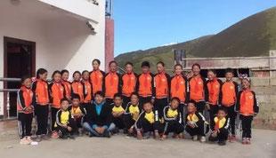 Des élèves de l'Ecole Roi Gesar