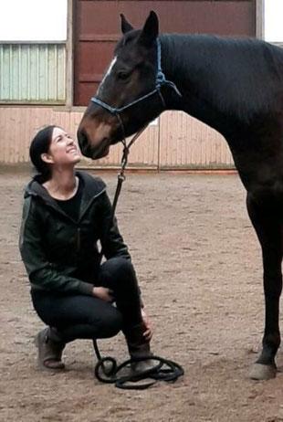 Pferdegestütztes Life Coaching, Kombination Reitunterricht und Coaching, Einzelcoaching und Gruppencoaching mit Pferden in Brandenburg südlich von Berlin und Potsdam