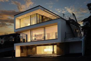 Immobilienfotografie Modernes Wohnhaus by dg photo creator Fotograf Zürich
