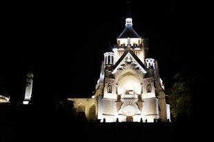 Le Mémorial de Dormans bénéficie d'un nouvel éclairage.