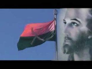 Jesus als Hüter der Kachin-Flagge