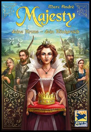 Rezension zu Majesty: Deine Krone - Dein Königreich von Hans im Glück