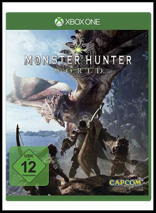 Videospiel Test zu Monster Hunter World von Capcom