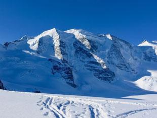 Skitour, Skihochtour, Piz Varuna, Engadin, Bernina, Schweiz, Alpe Palü