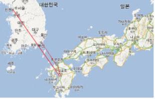 한국에서 쿠마모토 가는길