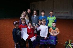 Die Kids der Odilienschule beim diesjährigen Ostercamp.