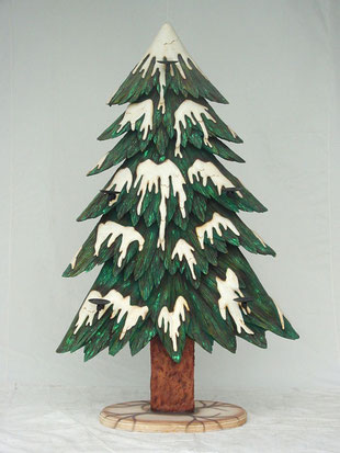 réplicas árboles navideños