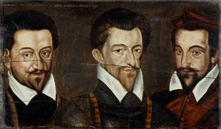Les trois Guises. Château de Blois