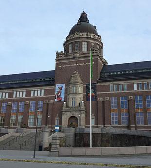 Das naturhistoriska Riksmuseet in Stockholm