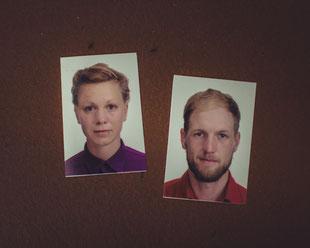 Nicht mal unsere Passbilder waren genehm... So unternahmen wir sogar eine Charakterverwandlung für diese Chinesen!