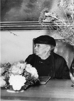 Sara Nussbaum während der Verleihung der Ehrenbürgerschaft