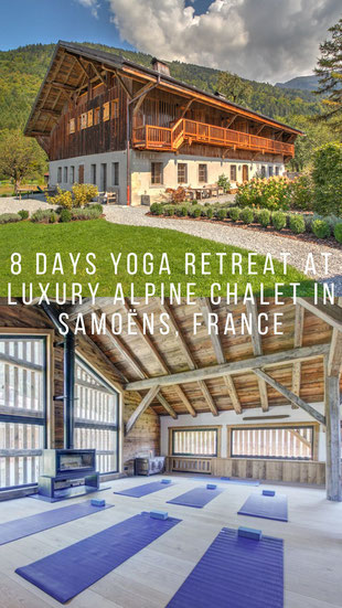 8 Days Yoga Retreat at Luxury Alpine Chalet in Samoëns, France - Rejuvenating Yoga Retreat in the French Alps