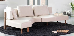 Sofa Wing Open Base Jori